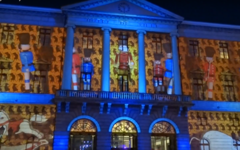 vidéo mapping Annecy